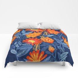 Midnight Garden Comforters