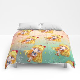 Sailor Venus Pattern Comforters