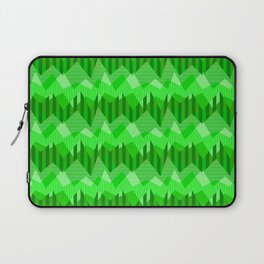 ZigZag All Day - Green Laptop Sleeve