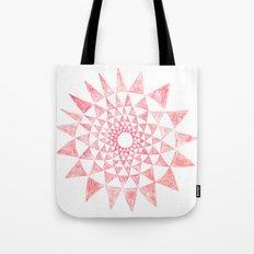 mandala:triangles Tote Bag