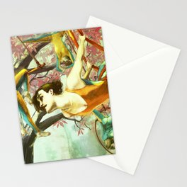 Trapeze Dream Stationery Cards