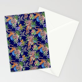 Tiger Print Stationery Cards