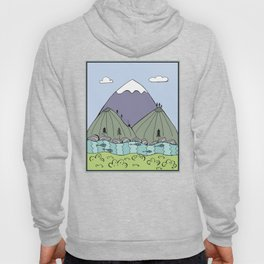 Cabin in the Mountains Hoody
