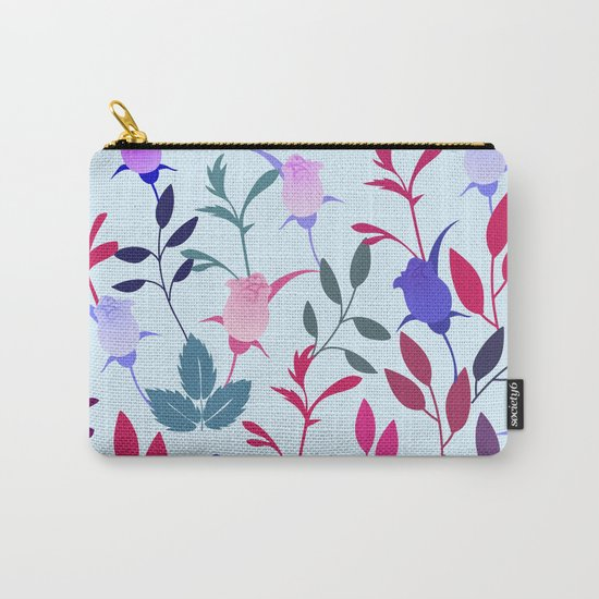 Flower Pattern III Carry-All Pouch