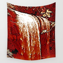 "series waterfall ""Cachoeira Grande"" V Wall Tapestry"