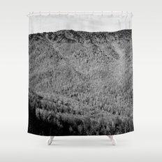 Winter Mountains Shower Curtain