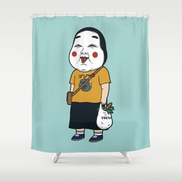 Joyful Girl Shower Curtain