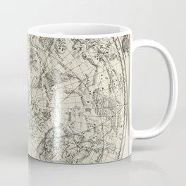 Antique Northern Celestial Hemisphere Map Coffee Mug
