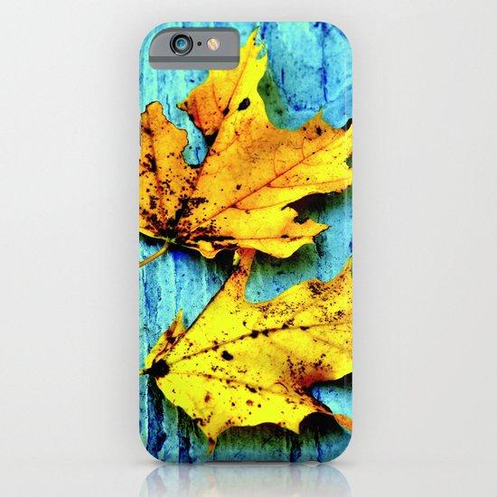 Fallen Leaves iPhone & iPod Case