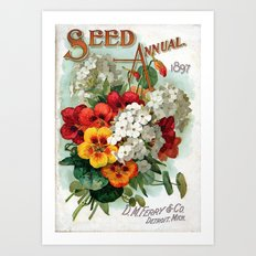 Seed Annual Art Print