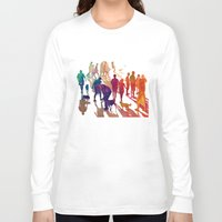 best friends Long Sleeve T-shirts featuring Best friends by takmaj