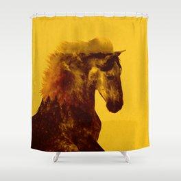Proud Stallion Shower Curtain
