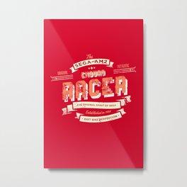 Enduro Racer Metal Print
