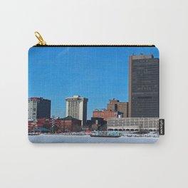Toledo Skyline in Winter III Carry-All Pouch