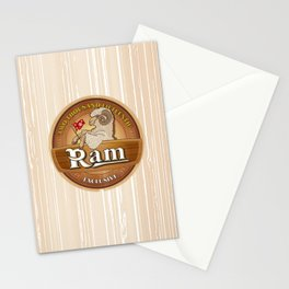 Exclusive the Ram TWO THOUSAND FIFTEENTH Stationery Cards