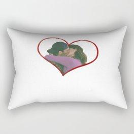 Lorelai and Luke Rectangular Pillow