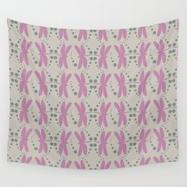 dragonfly pattern 3 Wall Tapestry