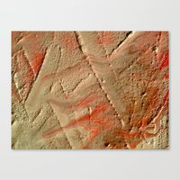 fault Canvas Prints featuring Fault Lines by Allegra Michaels