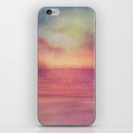 Minimal seascape 04 iPhone Skin