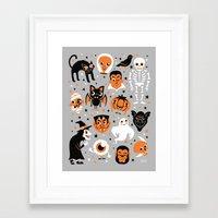 halloween Framed Art Prints featuring Halloween by Greg Abbott