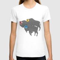 buffalo T-shirts featuring Buffalo  by Xandra Creative