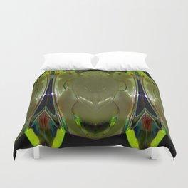 Glass Ice Vase Repeat Duvet Cover