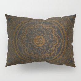 Circular Connections Copper Pillow Sham