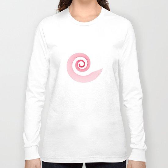 Red black spirale 5 Long Sleeve T-shirt