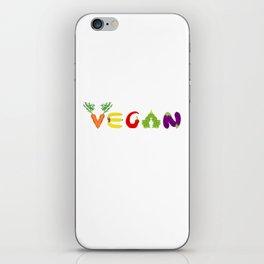 Vegan Life iPhone Skin