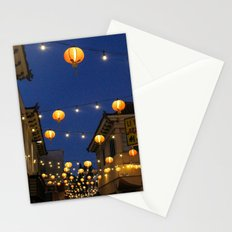 Chinatown Lanterns in L.A. Stationery Cards