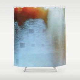 The Third Broken Machine Shower Curtain