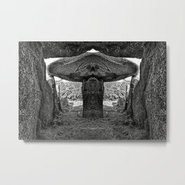 Alien Dolmen Metal Print