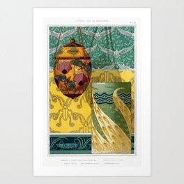 L'animal dans la décoration ll Art Print