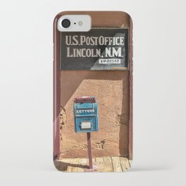 Post Office Lincoln NM iPhone Case