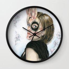 Lover's Eye Wall Clock