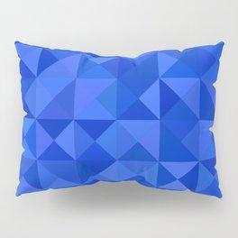 Blue pyramids Pillow Sham