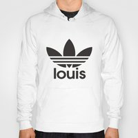louis tomlinson Hoodies featuring Louis Tomlinson Adidas Logo by itzmiri