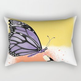 Come here sweet butterfly Rectangular Pillow