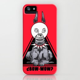 BOW-WOW? iPhone Case