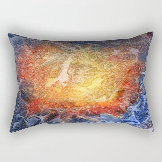 Visages Rectangular Pillow