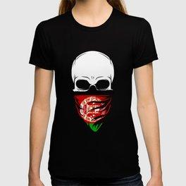 Afghanistan Skull T-Shirt - Afghanistan T-shirt