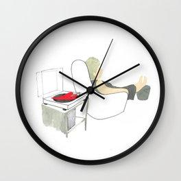 Listen to music Wall Clock