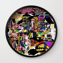 Slim Fit Chinos Print Wall Clock