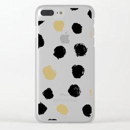 Geometric Pattern 13 Clear iPhone Case