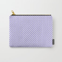Animal Paw Prints On Lavender Carry-All Pouch