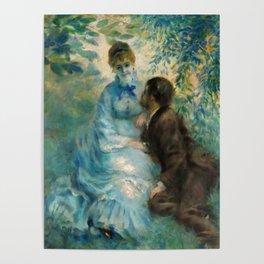 """Auguste Renoir """"Lovers"""" Poster"""