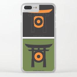 jap[ojo]ón Clear iPhone Case