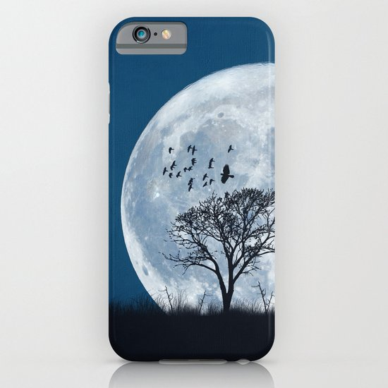 When the moon speaks (part IV) iPhone & iPod Case