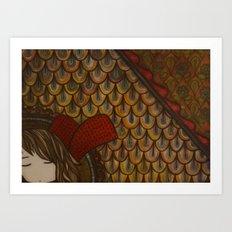 Attic Window Art Print