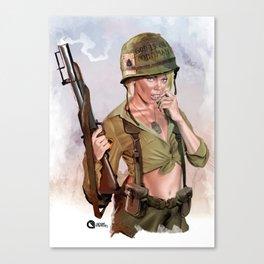 Sexy grunt Canvas Print